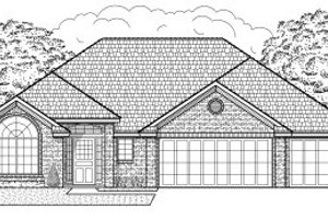 Traditional Exterior - Front Elevation Plan #65-404