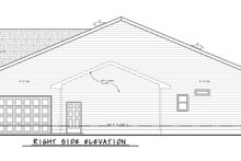 Dream House Plan - Traditional Exterior - Other Elevation Plan #20-2425
