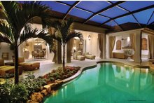 Mediterranean Exterior - Outdoor Living Plan #930-13