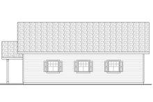 House Plan Design - Craftsman Exterior - Other Elevation Plan #124-1069