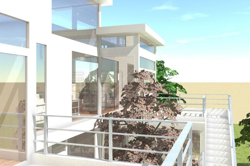 Modern Exterior - Outdoor Living Plan #64-219 - Houseplans.com
