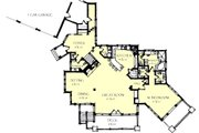 Craftsman Style House Plan - 3 Beds 2.5 Baths 5150 Sq/Ft Plan #921-26 Floor Plan - Main Floor Plan