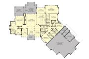 Cottage Style House Plan - 4 Beds 3.5 Baths 4420 Sq/Ft Plan #132-568 Floor Plan - Main Floor Plan