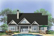 Country Style House Plan - 3 Beds 2 Baths 1956 Sq/Ft Plan #929-710 Exterior - Rear Elevation