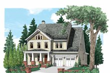 Architectural House Design - Craftsman Exterior - Front Elevation Plan #927-530