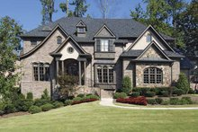 House Plan Design - Traditional Exterior - Front Elevation Plan #54-303