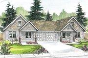 Craftsman Style House Plan - 3 Beds 2 Baths 1426 Sq/Ft Plan #124-709