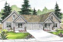 Home Plan - Craftsman Exterior - Front Elevation Plan #124-709