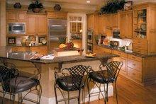 Colonial Interior - Kitchen Plan #429-313