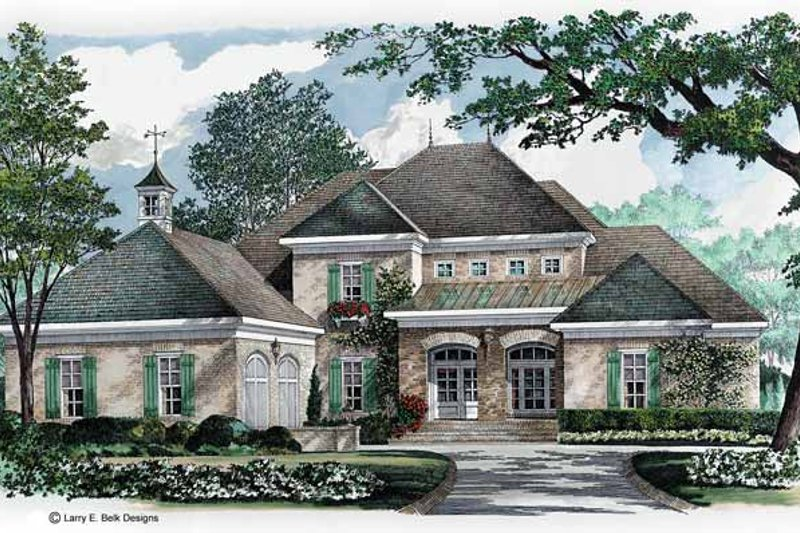 House Plan Design - European Exterior - Front Elevation Plan #952-282