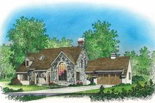 House Plan Design - Country Exterior - Front Elevation Plan #1016-81