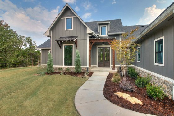 Dream House Plan - Plan 1067-1 Front Photo