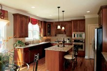 House Plan Design - Country Interior - Kitchen Plan #927-892