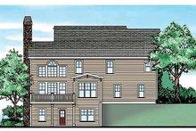 Craftsman Exterior - Rear Elevation Plan #927-188
