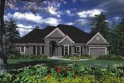 Traditional Style House Plan - 4 Beds 2 Baths 1852 Sq/Ft Plan #48-123