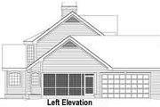 Traditional Style House Plan - 4 Beds 3.5 Baths 2900 Sq/Ft Plan #57-187 Exterior - Other Elevation