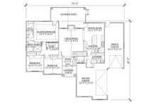 Traditional Floor Plan - Main Floor Plan Plan #5-246