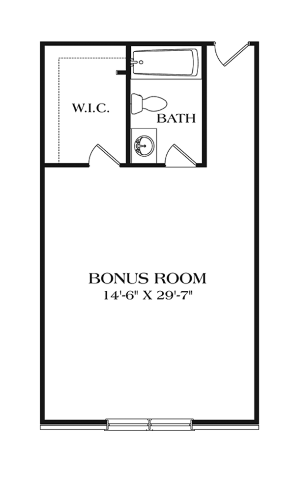 Ranch Floor Plan - Other Floor Plan Plan #453-631