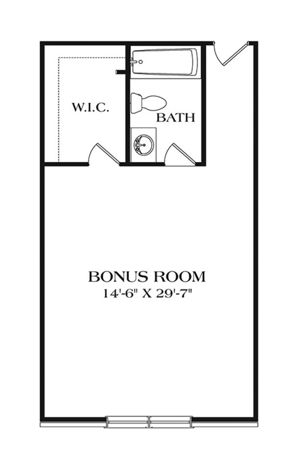 Ranch Floor Plan - Other Floor Plan Plan #453-631