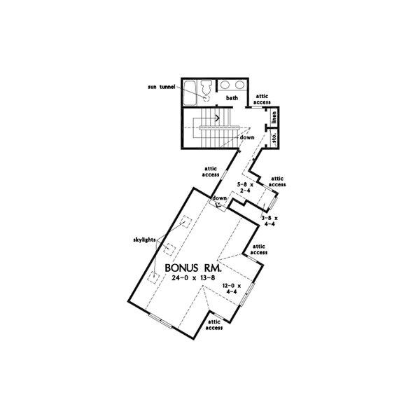 Home Plan - Farmhouse Floor Plan - Other Floor Plan #929-1128
