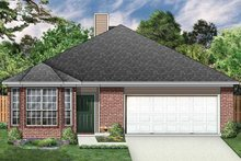 Ranch Exterior - Front Elevation Plan #84-664
