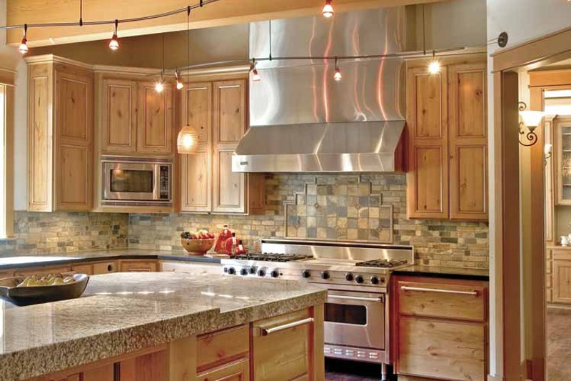 Contemporary Interior - Kitchen Plan #951-2 - Houseplans.com