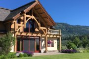 Log Style House Plan - 3 Beds 3 Baths 3440 Sq/Ft Plan #451-27 Exterior - Outdoor Living