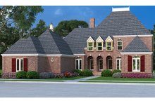 Country Exterior - Front Elevation Plan #45-458