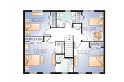 Colonial Style House Plan - 4 Beds 2.5 Baths 1895 Sq/Ft Plan #23-2479