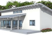 Modern Style House Plan - 3 Beds 2 Baths 1464 Sq/Ft Plan #537-24 Exterior - Other Elevation