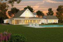 Farmhouse Exterior - Rear Elevation Plan #888-1