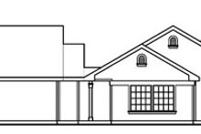 House Plan Design - Traditional Exterior - Other Elevation Plan #124-353