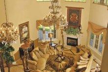 Architectural House Design - Mediterranean Interior - Family Room Plan #930-57
