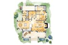 Cabin Floor Plan - Main Floor Plan Plan #942-25