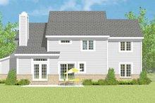 Traditional Exterior - Rear Elevation Plan #72-1115