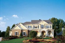House Plan Design - Colonial Exterior - Front Elevation Plan #429-313