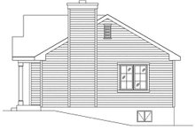 Dream House Plan - Cottage Exterior - Other Elevation Plan #22-595
