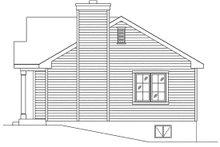 House Plan Design - Cottage Exterior - Other Elevation Plan #22-595