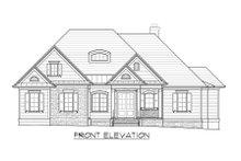 Home Plan - European Exterior - Front Elevation Plan #1054-51