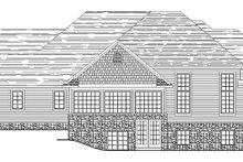 Dream House Plan - European Exterior - Rear Elevation Plan #1064-1