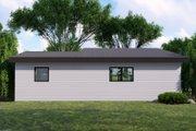 Modern Style House Plan - 1 Beds 1 Baths 816 Sq/Ft Plan #1064-121