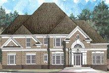 Dream House Plan - European Exterior - Front Elevation Plan #119-330