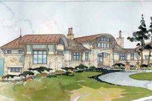 Contemporary Exterior - Front Elevation Plan #928-67