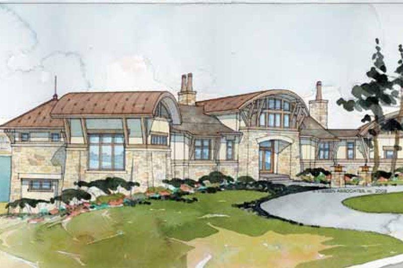 House Plan Design - Contemporary Exterior - Front Elevation Plan #928-67