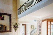 Architectural House Design - Mediterranean Interior - Entry Plan #930-283
