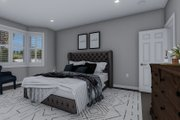 Traditional Style House Plan - 3 Beds 2 Baths 1644 Sq/Ft Plan #1060-56 Interior - Master Bedroom