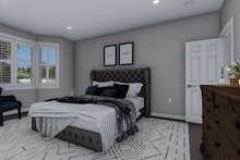 House Plan Design - Traditional Interior - Master Bedroom Plan #1060-56