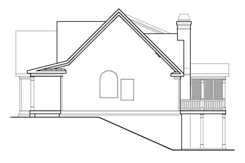 Country Exterior - Other Elevation Plan #927-9 - Houseplans.com