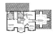 European Style House Plan - 3 Beds 2.5 Baths 2783 Sq/Ft Plan #138-337 Floor Plan - Upper Floor Plan