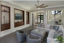 House Design - Contemporary Interior - Family Room Plan #930-20